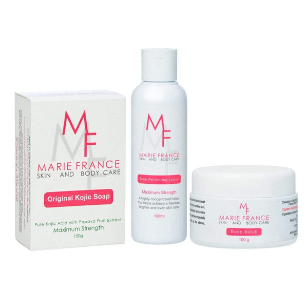 Dark Knees and Elbows Kit - Marie France Skin & Body Care