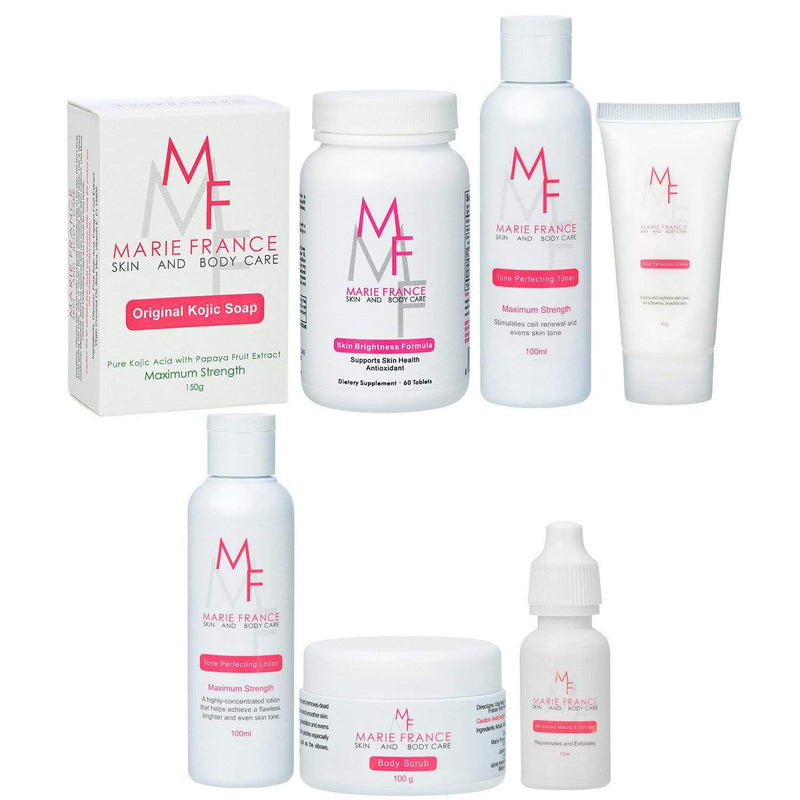 Overall Face and Body Set - Marie France Skin & Body Care
