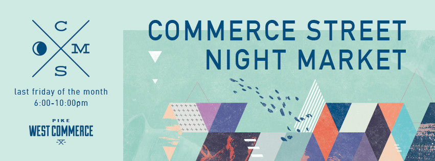 Commerce Street Night Market - TONIGHT!