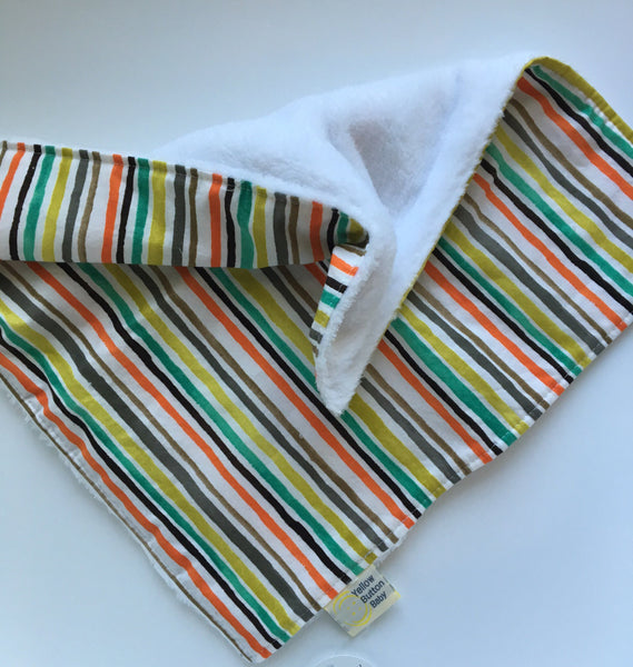 Stripe Cuddle Blanket - Lovie, Travel  and Large size available