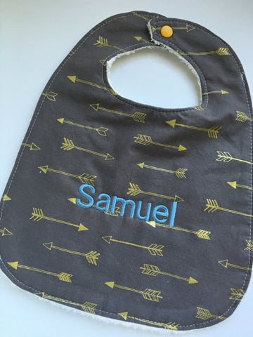 Arrow Grey Bib