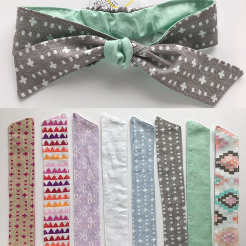 Set of 3 Headbands - Select your size & print options