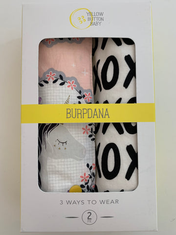 Unicorn / XOXO Burpdana Gift Set