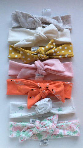 Adjustable Knit Headbands - Pick your print