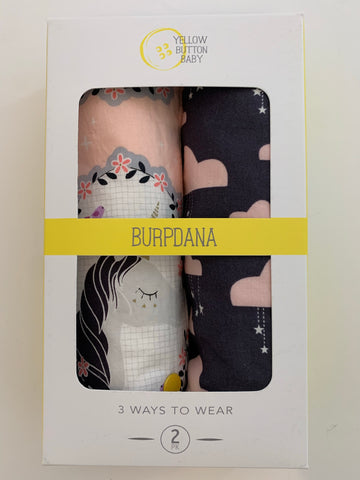 Unicorn / Cloud Burpdana Gift Set
