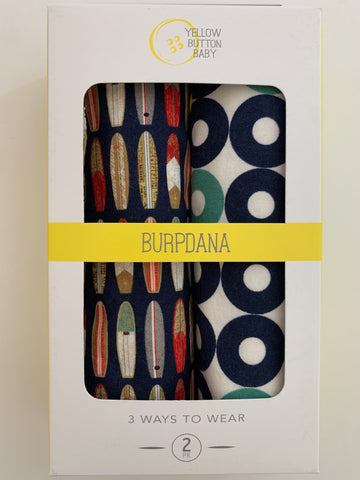 Surf / Nautical Burpdana Gift Set