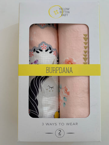 Unicorn / Rose Gold Burpdana Gift Set