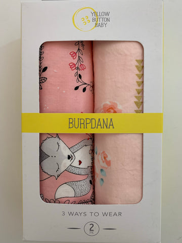 Fox / Rose Gold Burpdana Gift Set