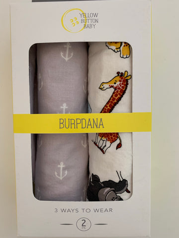 Animal / Anchor Burpdana Gift Set
