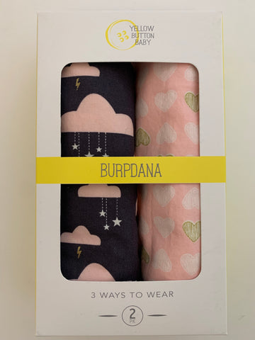 Cloud / Heart Burpdana Gift Set