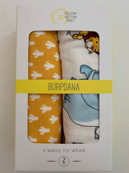 Animal / Cactus Burpdana Gift Set