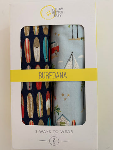 Surf / Beach Burpdana Gift Set