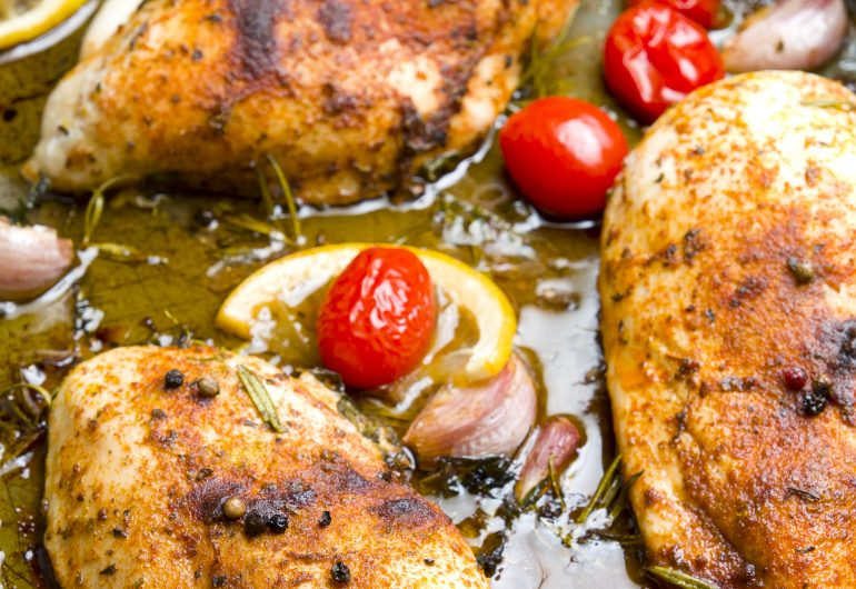 NATIVE FOOD MONTH: LEMON MYRTLE ROAST CHICKEN