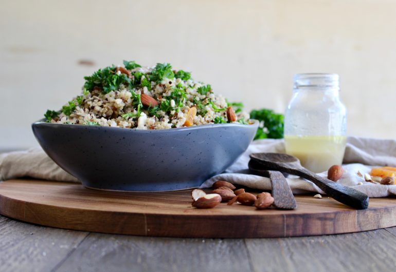 NATIVE FOOD MONTH: QUINOA SUMMER SALAD