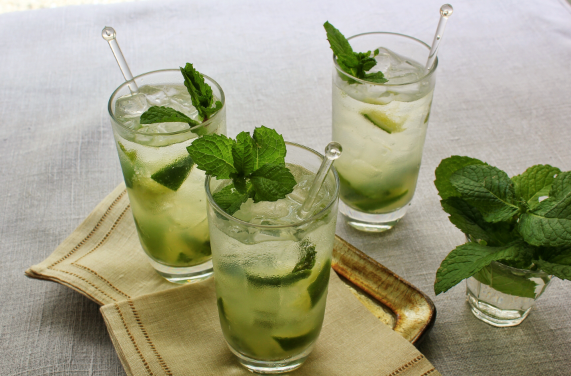 Finger Lime Mojitos