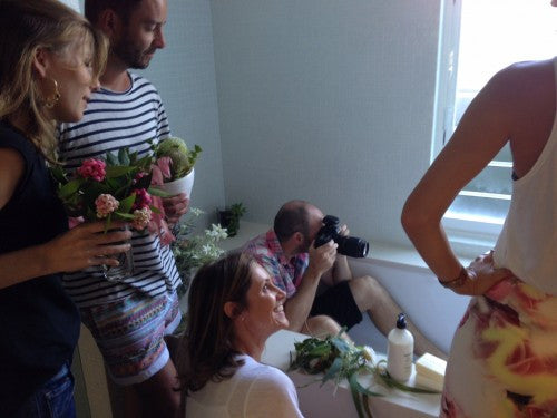 BEHIND THE SCENES AT OUR AUSTRALIAN BOTANICALS PHOTOSHOOT