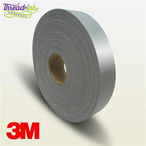 Thread and Ink Online Silver Reflective Tape - Iron On