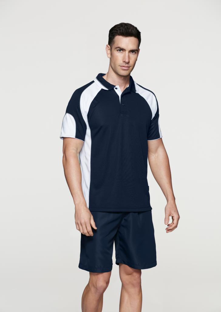 Aussie Pacific 1300 Mens Murray Driwear Polo