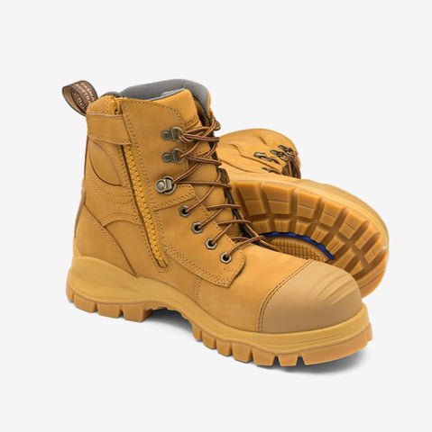 Blundstones Boots 992 Wheat Zip Side Safety