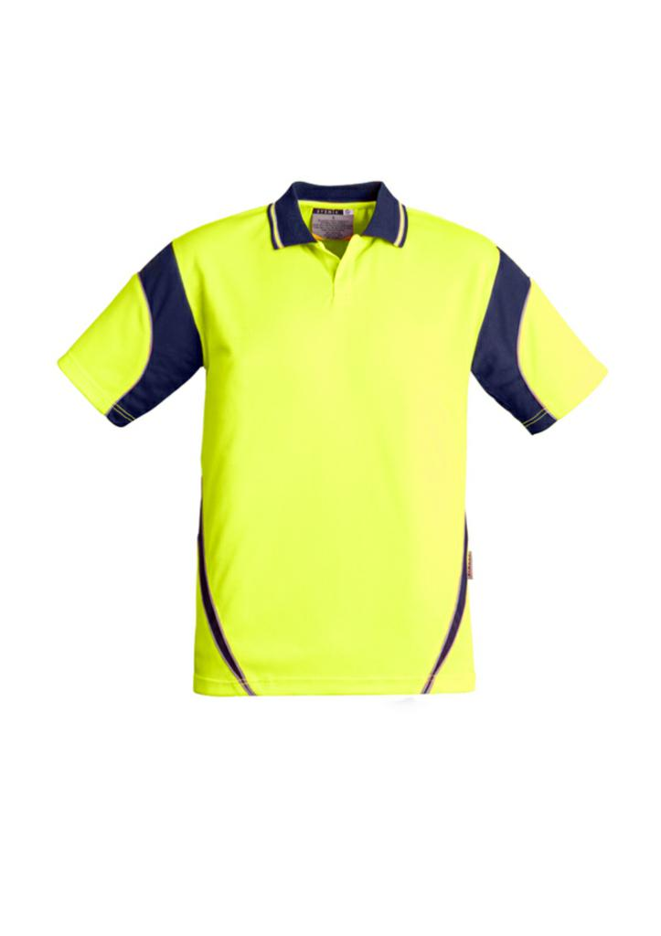 Syzmik ZH248 Mens Hi Vis Aztec Short Sleeve Polo