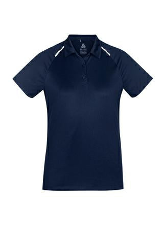 Biz Collection P012LS Ladies Academy Polo