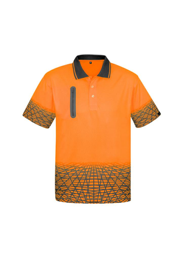 Syzmik ZH300 Mens Hi-Vis Tracks Polo Shirt
