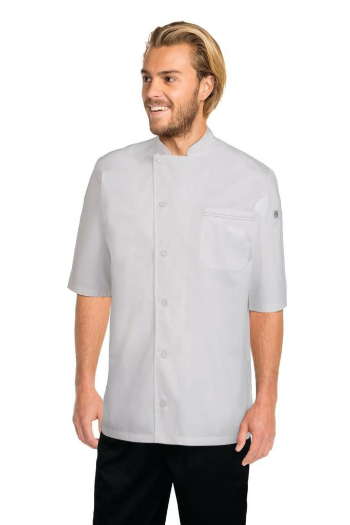 Chef Works V-Series Mens White Valais Chef Jacket