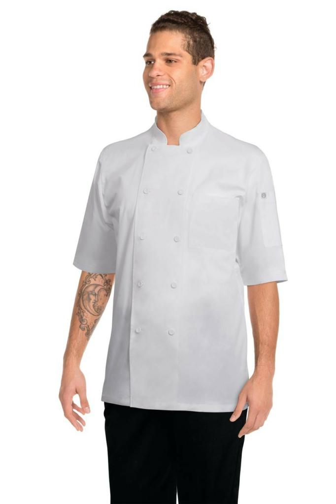 Chef Works Montreal Mens S/S Chef Jacket