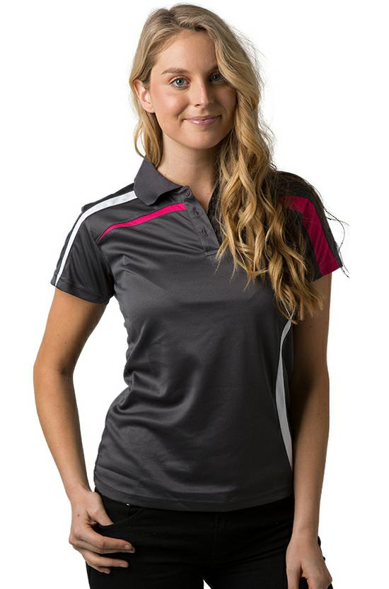 BeSeen Ladies Polyester Cooldry Polo BSP2014L