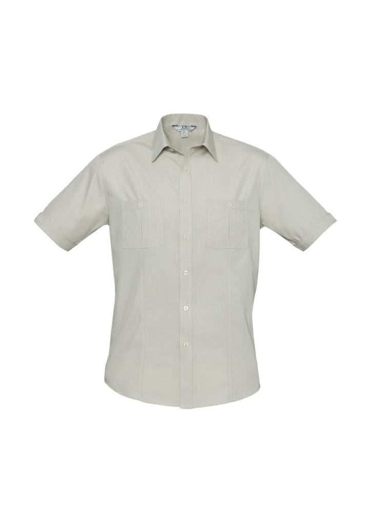 Biz Collection S306MS Mens Bondi S/S Shirt