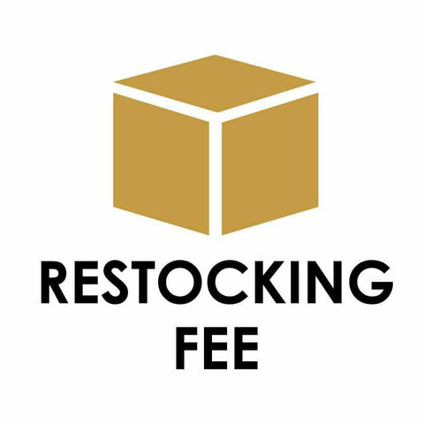 Surcharge Re-Stocking Fee