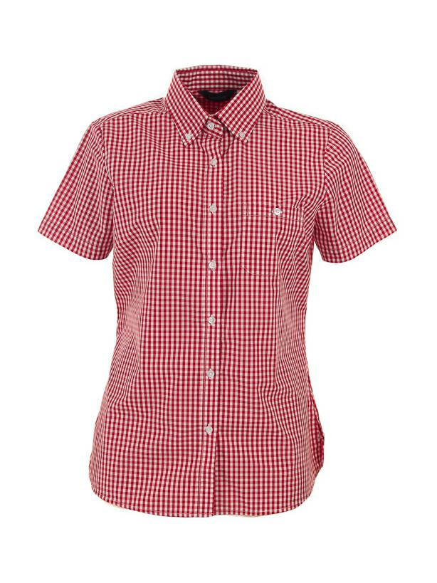 Identitee W47 Millardn Ladies Short Sleeve Check