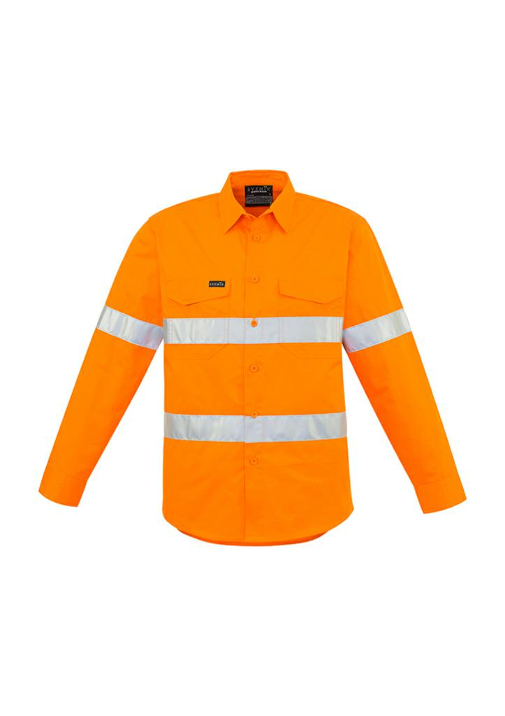 Syzmik Mens Hi-Vis Hoop Taped Shirt ZW640