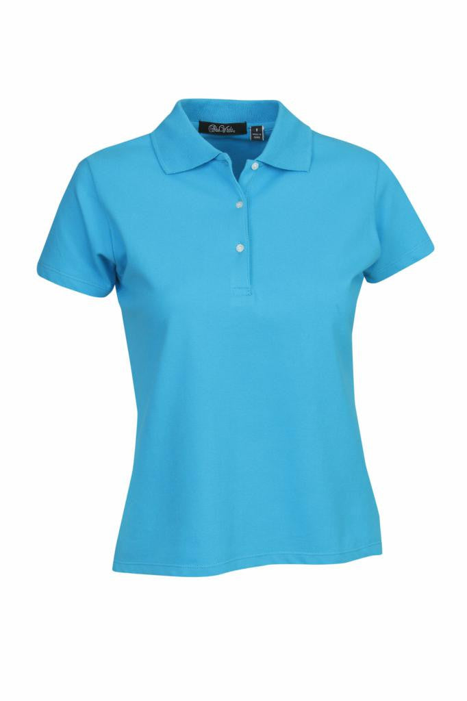Ladies Cotton Lycra Polo Shirt P23
