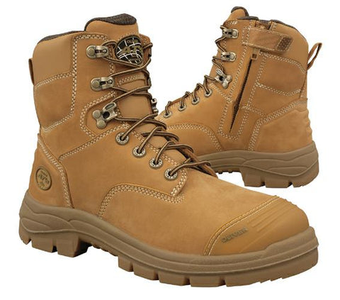 Oliver ATs 55332Z Wheat Lace & Zip Sided Work Boot