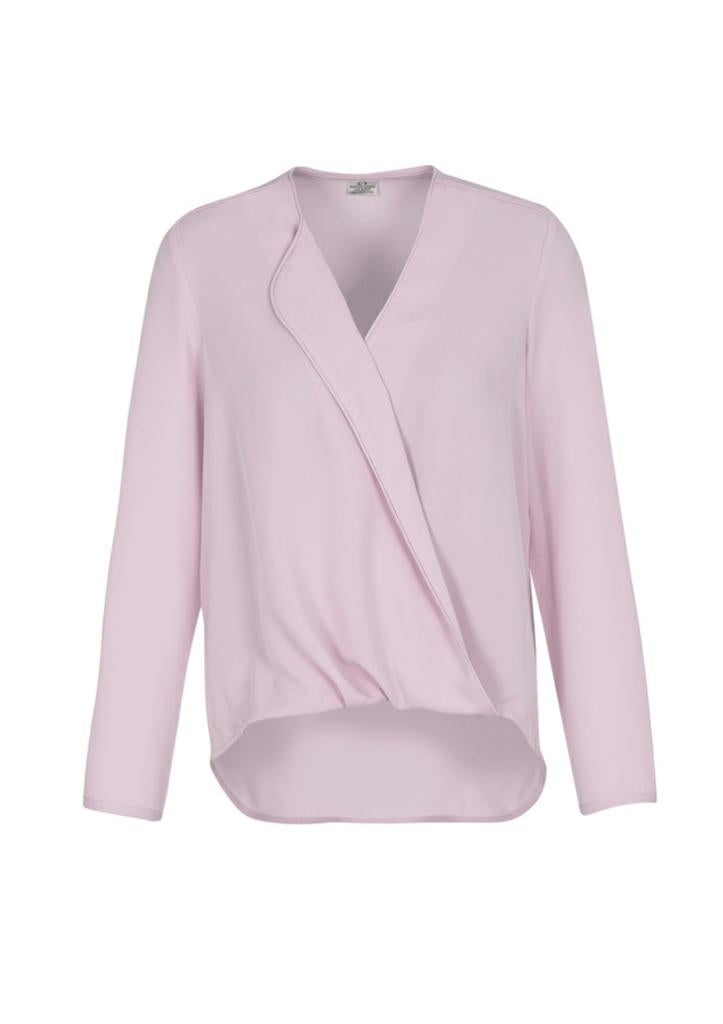 Biz Collection S014LL Ladies Lily Hi-Lo Blouse