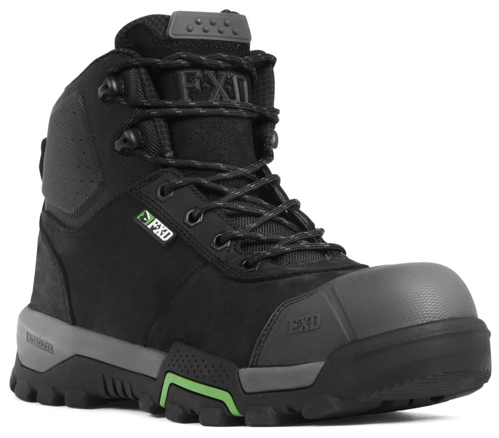 FXD 4.5 Mid-Cut Work Boots Zip Side WB-2