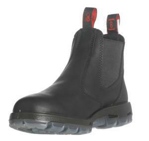 Redback Boots UBBK Soft Toe Slip on Black