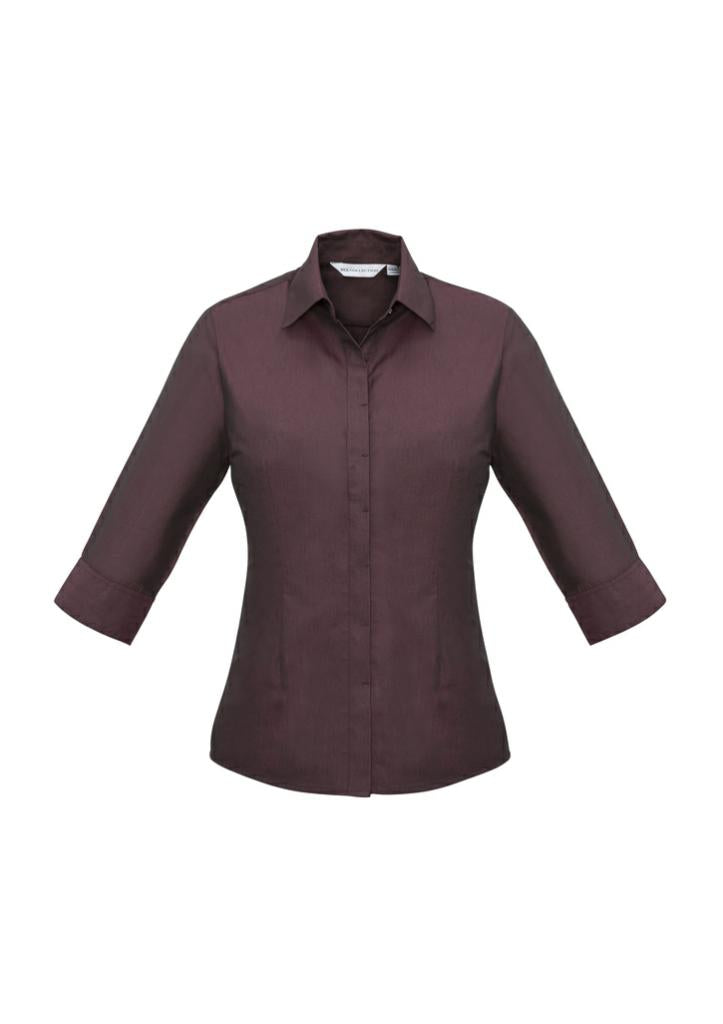 Biz Collection S504LT Hemingway Ladies 3/4 Shirt