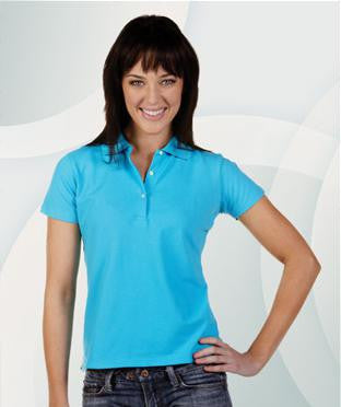 Ladies Cotton Lycra Polo Shirt P23 – Thread and Ink Workwear Safety ... e82926d3f