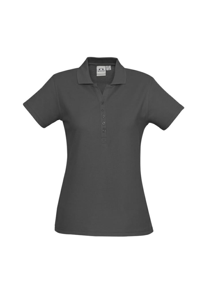 Biz Collection P400LS Crew Ladies Polo