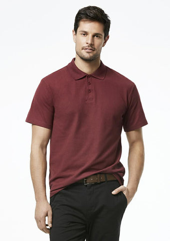 Biz Collection P400MS Crew Mens Polo
