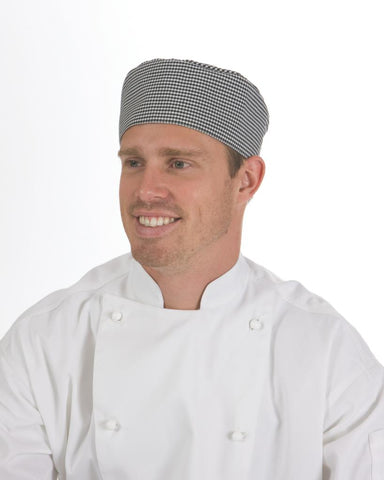 DNC 1602 Traditional Flat Chef Hat