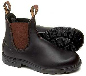Blundstone Boots 600 Elastic Sided Stout Brown