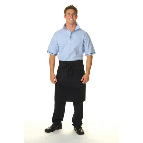 DNC 2212 Polyester Cotton 1/2 Length Apron