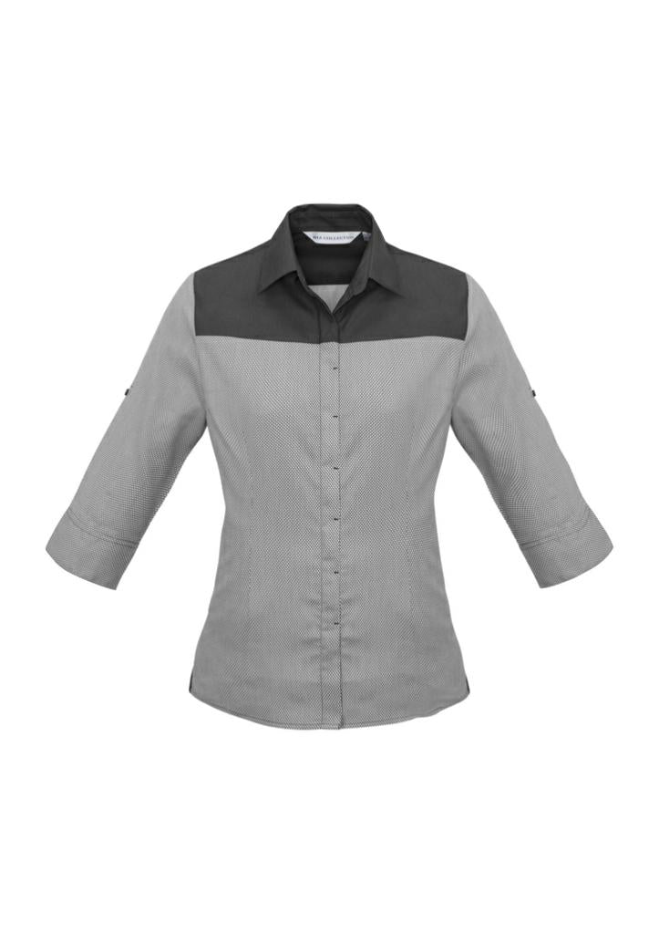 Biz Collection S503LT Ladies Havana 3/4-S Shirt