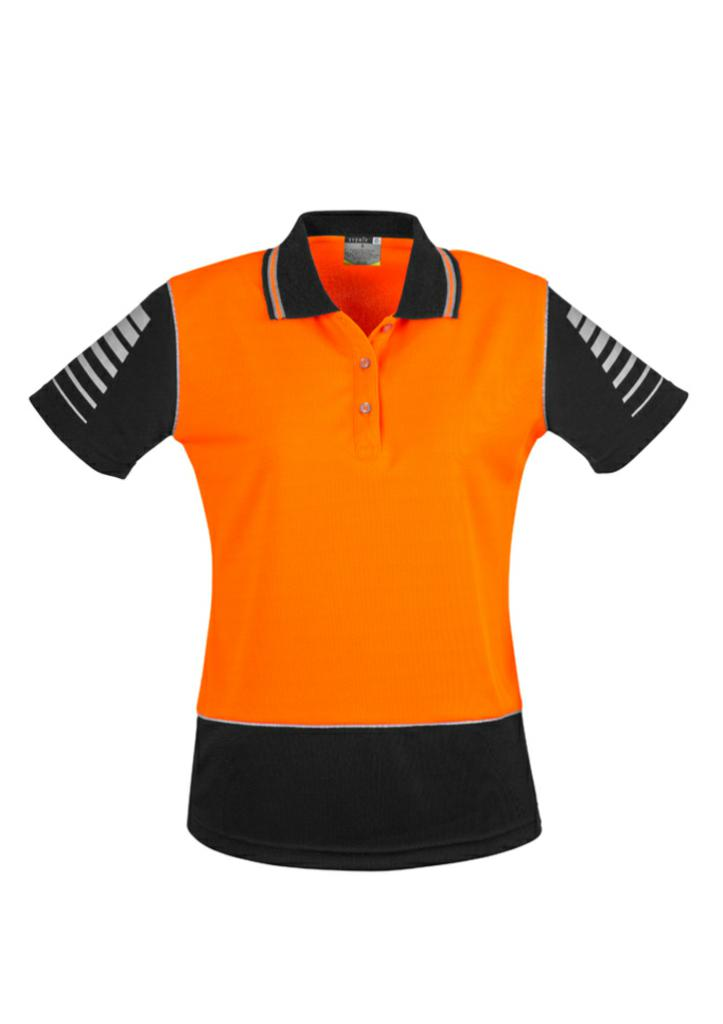 Syzmik ZHL236 Womens Hi Vis Zone Polo