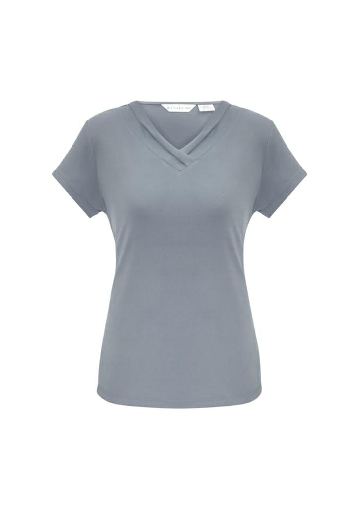 Biz Collection K819LT Ladies Lana S/S Sleeve Top