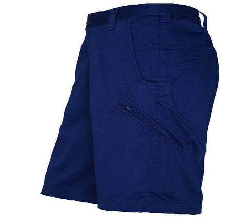 Work shorts thread and ink workwear safety embroidery ritemate light weight unisex cargo short rm4040 malvernweather Image collections