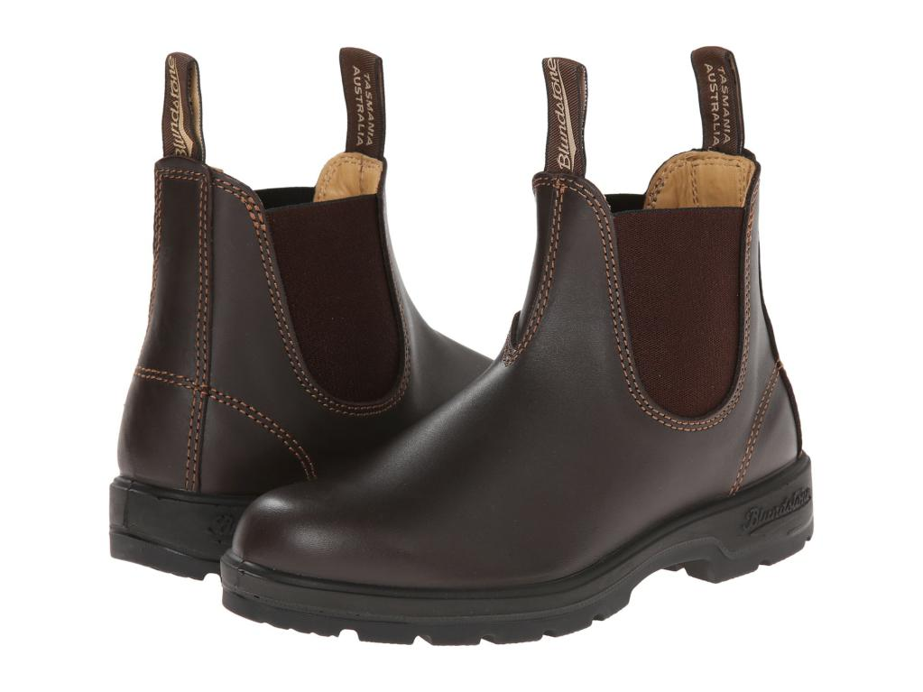 Blundstone Boots 550 Walnut Elastic Side Boot